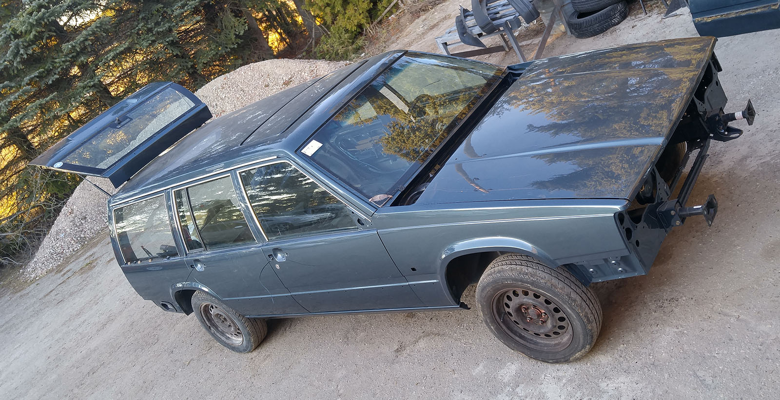 1989 Volvo 745 full restoration