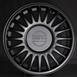 Chrome Shadow Paint on Volvo Wheels